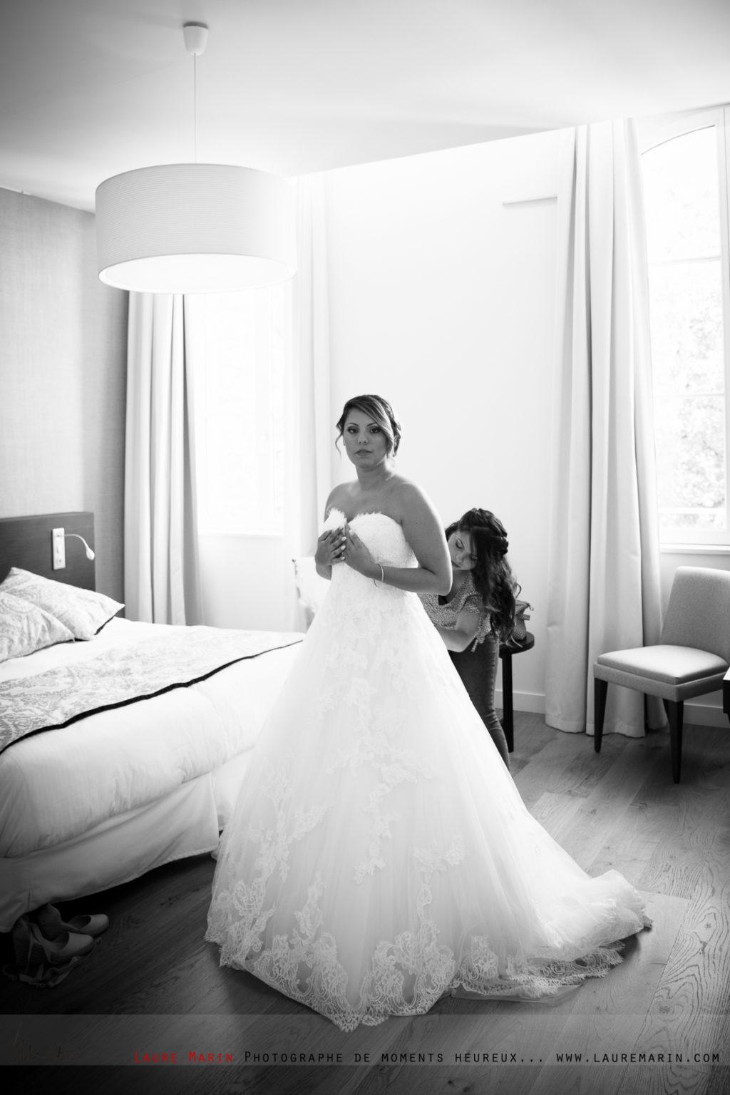 © Laure Marin Photographe Mariage Préparatifs Mariée_1491
