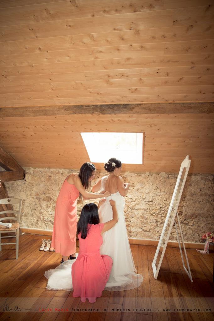 © Laure Marin Photographe Mariage Préparatifs Mariée_26105
